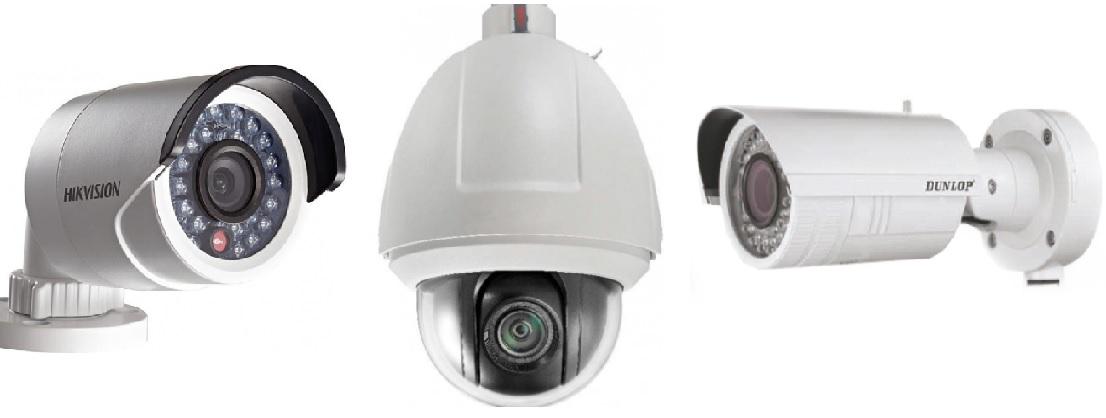 Yüksek Çözünürlüklü İP Kameralar